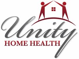 HealthRev Partners Testimonials, Unity Home Health Logo